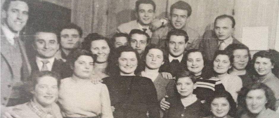 Inverno '49-'50 a casa Davie