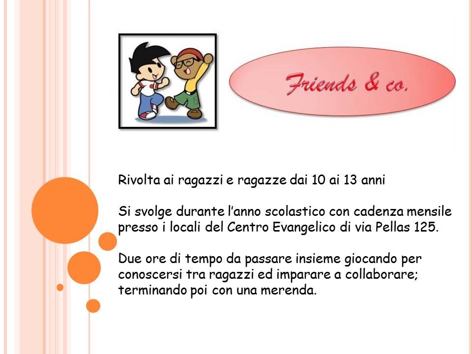 immagine friends per sito
