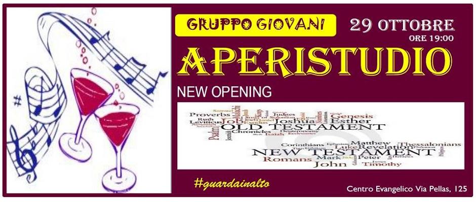 "New Opening ""Aperistudio"""