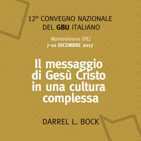 XII Convegno Nazionale del GBU italiano